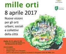 Bergamo Città dei Mille Orti 8 aprile 2017