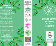 Eventi estivi al Parco di via Paderno (Seriate)